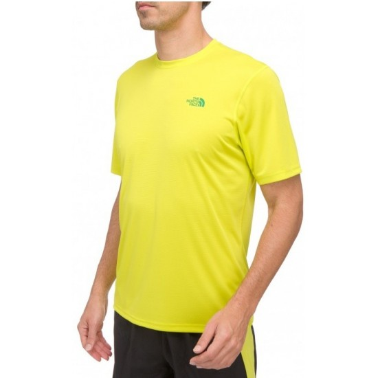 Męska koszulka The North Face M Solid Flex Crew Sulphur Spring Green / Zielony Arden