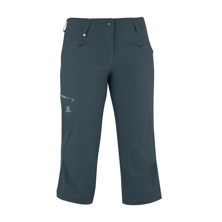 Damskie spodnie Salomon Wayfarer Capri W Cld