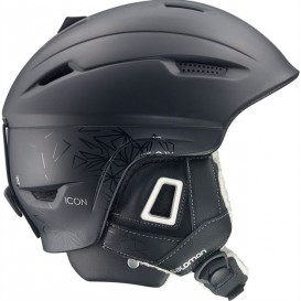 Kask narciarski Salomon Icon Custom Air Black Matt