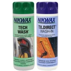 Komplet płyn do prania NikwaX Tech Wash + Impregnat NikwaX TX Direct