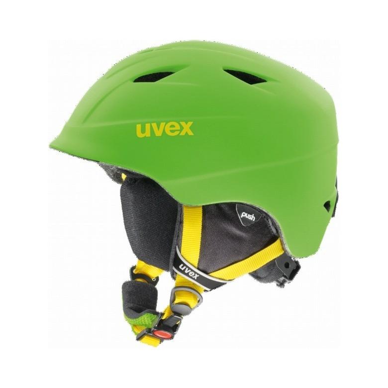 Kask narciarski Uvex Airwing pro 2 Applegreen Mat