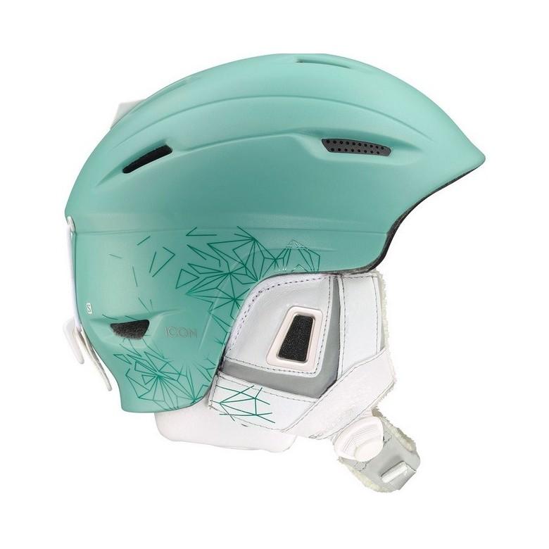 Kask narciarski Salomon Icon Custom Air Aquamarine Matt