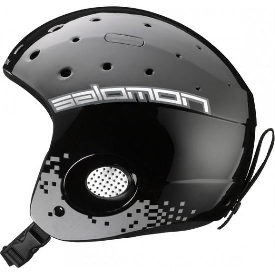 Juniorski kask narciarski Salomon Zoom Black