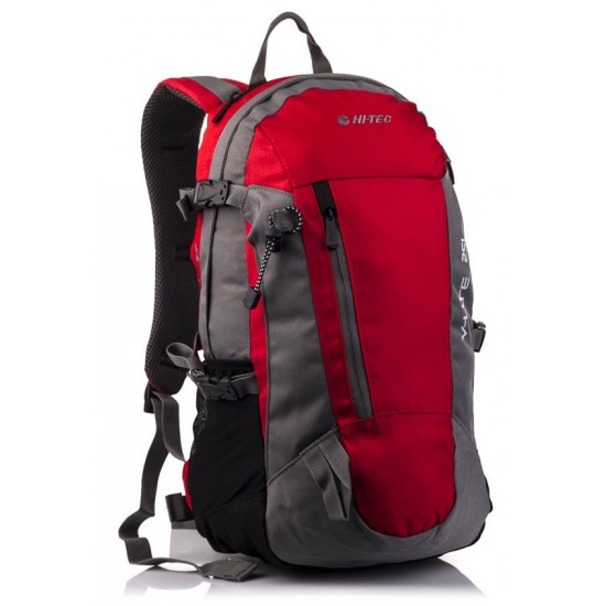 Plecak HI-TEC FELIX 25L RED/DARK GREY/DARK GREY ZIPPER