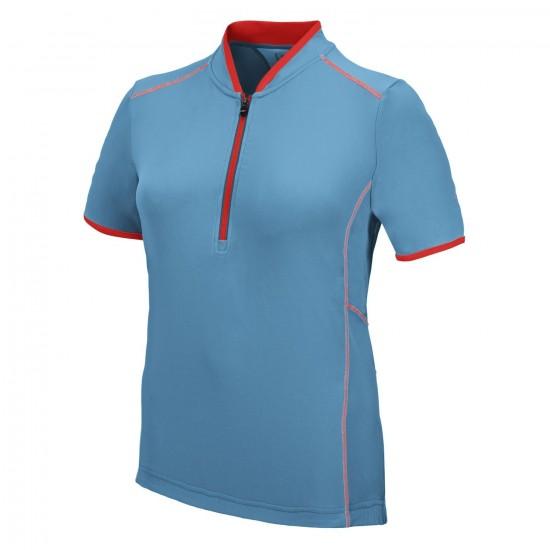 Damska koszulka rowerowa Campagnolo TURCHESE L694 Niebieska