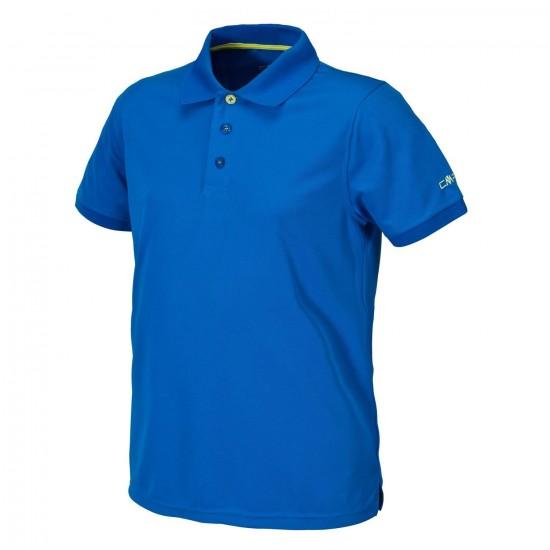 Męska koszulka Polo Campagnolo Niebieska