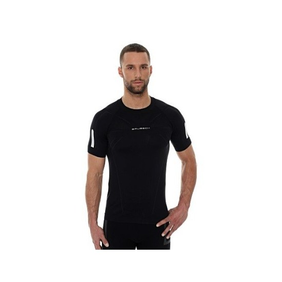 Męska koszulka Brubeck ATHLETIC Czarna