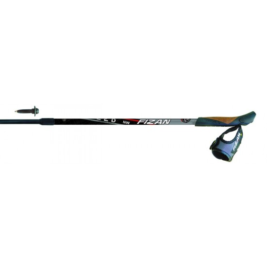Kije Fizan Nordic Walking Speed Black