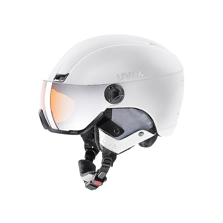 Kask narciarski Uvex Hlmt 400 Visor Style