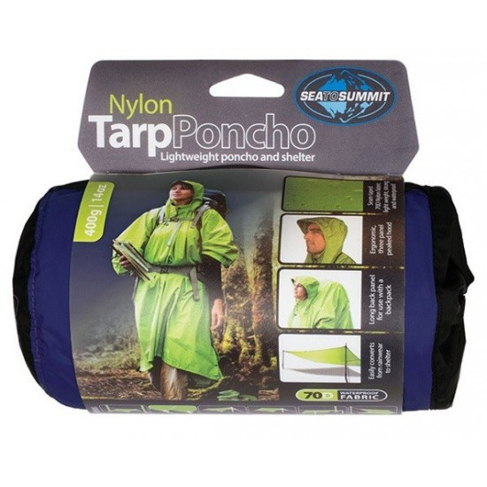 Poncho Sea To Summit Nylon Tarp Poncho