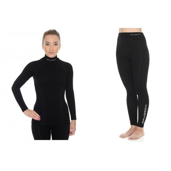 6b92e34dec2f Komplet damski Brubeck Extreme Wool Czarny. Brubeck. Wyprzedaż!