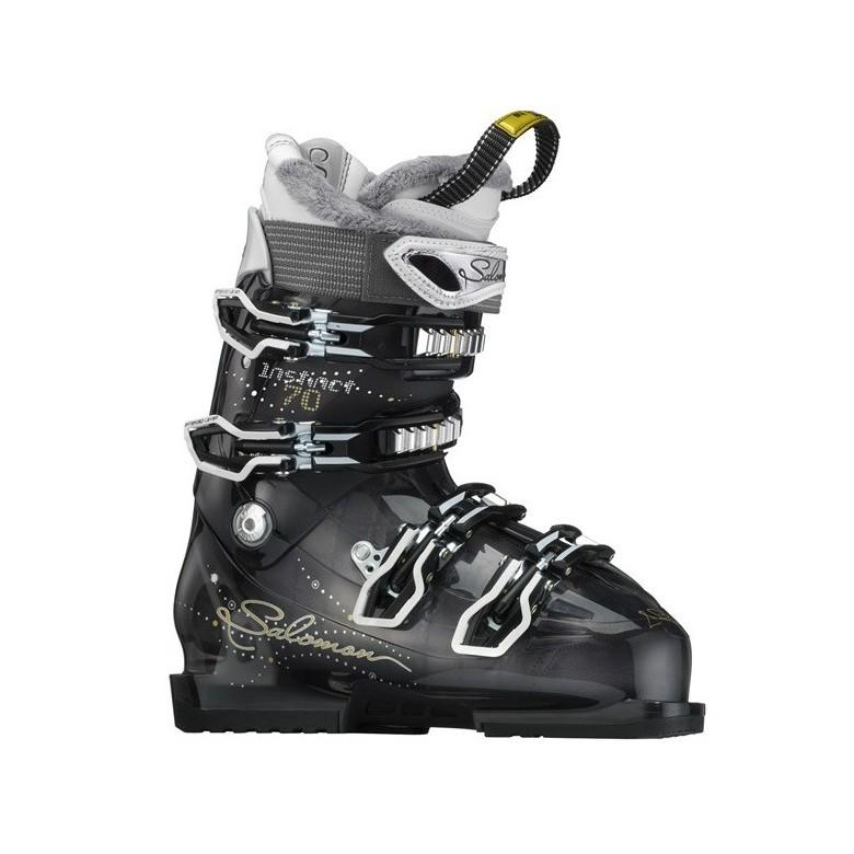 Damskie buty narciarskie Salomon Instinct 70 Grey Translucent