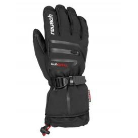 Męskie rękawice narciarskie Reusch Down Spirit GTX Czarne