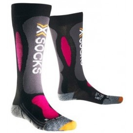 Skarpety X-SOCKS Ski Carving Silver Women