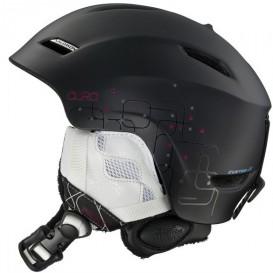 Kask narciarski Salomon Aura 08 Custom Air Black Matt